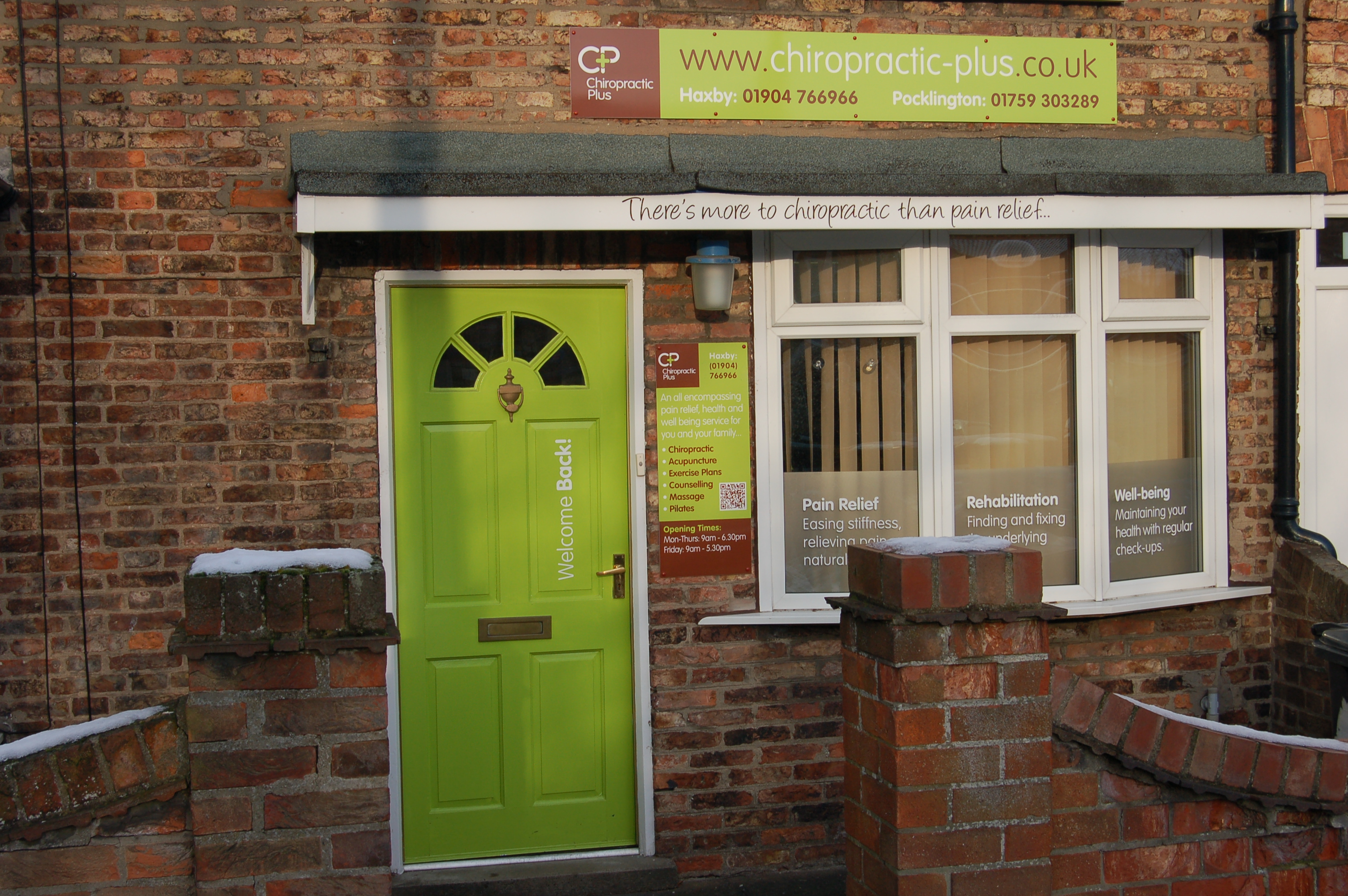 Chiropractic Plus Haxby